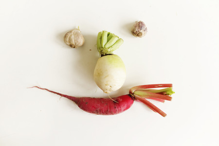 close your eyes: Vegetables