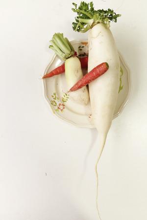 more mature: Vegetables