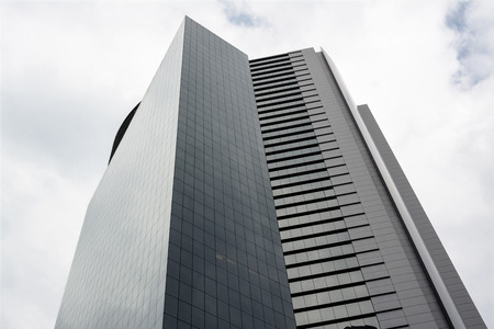 building industry: Modern Office Building in Mexico City