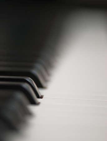 piano keys, narrow dof