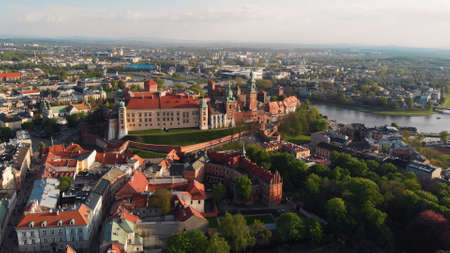 Krakow, Poland. Wawel royal Castle and Cathedral. High quality photo