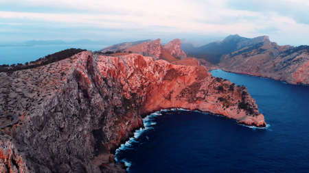 Formentor Peninsula Cap De Formentor In Coast Of North Mallorca, Spain. High quality photo
