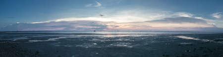 Sunset And beautiful sky over the sea. Reklamní fotografie