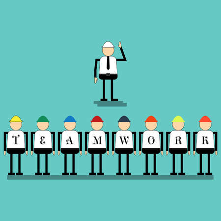 Businessmen and teamwork concept