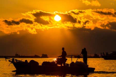 Sanya Hainan sea view Stock Photo