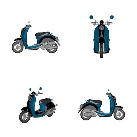 speedster: cartoon bike