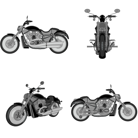 cruiser: cartoon cruiser bike