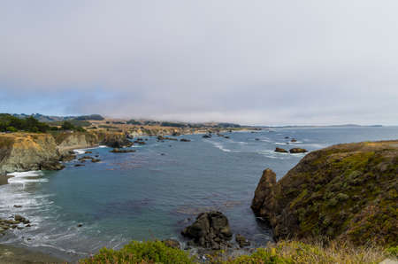Bodega Bay is a shallow rocky inlet on the California coast sandwiched between Sonoma County and Marin County