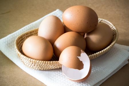 Egg and Broken Egg photo