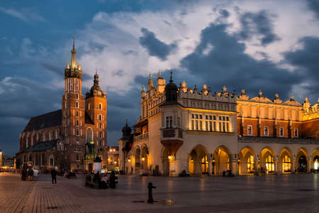 Mainsquare in Krakow