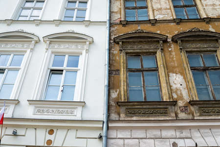 retrofit: Front of a house in Krakow