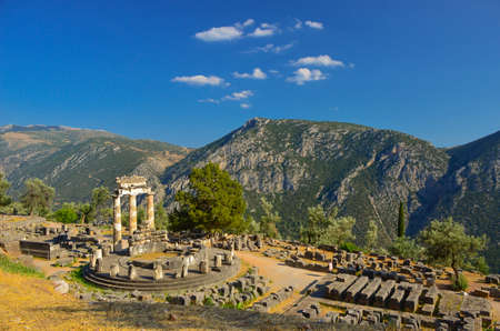 greece: Delphi in Greece