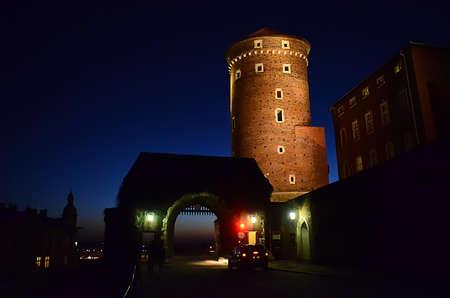 Entrance to the Wawel in Krakow