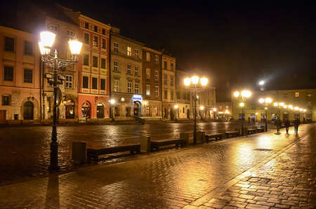 rynek: Maly Rynek in Krakow