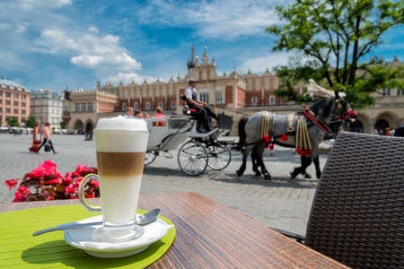 krakow: Latte Macchiato in Krakow
