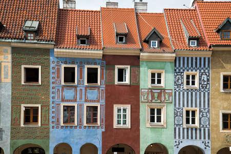 Die Altstadt von Poznan Standard-Bild