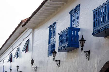 cusco: houses in Cusco Stock Photo