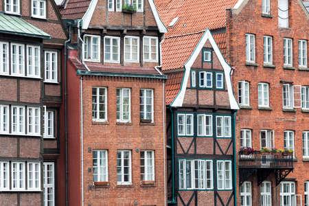 Old town in Hamburg