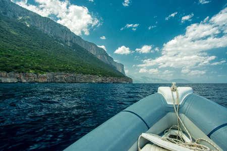 copse: Coast of Sardinia Stock Photo
