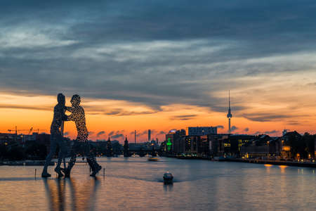 Treptow Harbour Berlin
