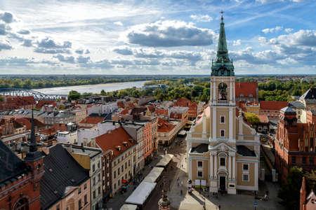 Old town of Torun Stock Photo
