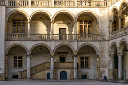 magistrates: Wawel castle in Krakow, Poland Stock Photo