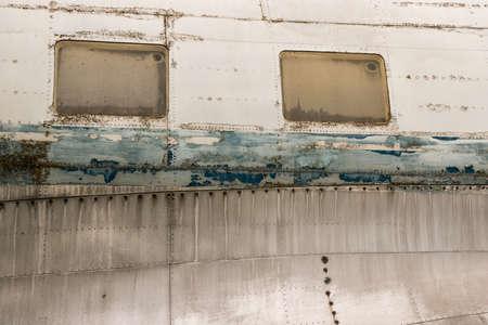 버려진 비행기