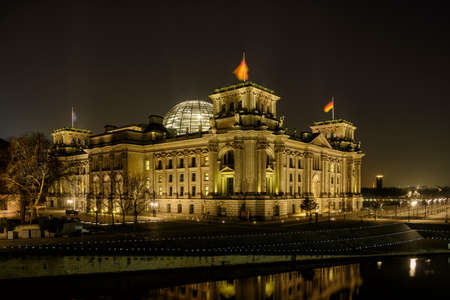 Reichstag, domicile of the German parliament in Berlin