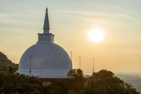 Temple of Mihintale in Sri Lanka