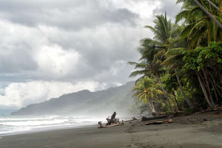 national park of Corcovado at the pacific coast