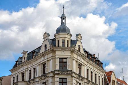 historic oldtown of Torun in eastern Poland