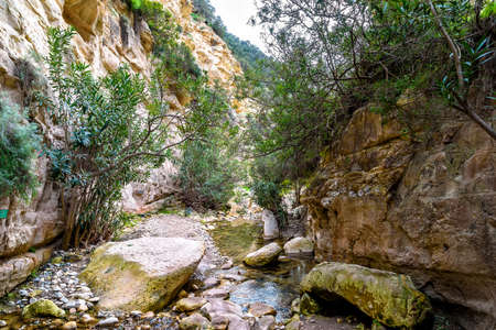 canyon of Avakas in the western part of Cyprus, Europe