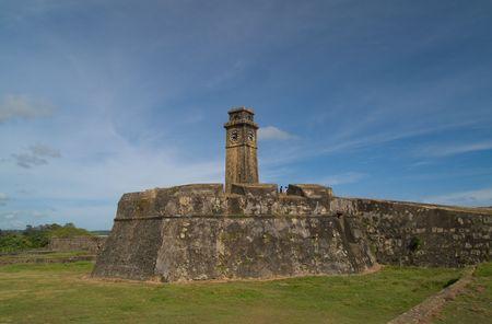 世界遺産としてユネスコに記載されている 1988 年以来スリランカ ゴール ・ フォート。 写真素材