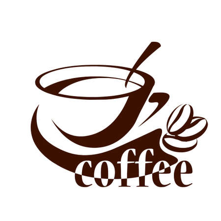 coffee cup logo Stock Vector - 10213785