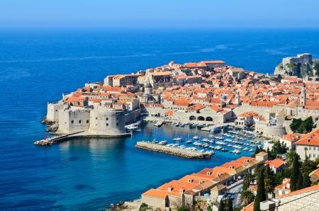 dubrovnik: The Old Town of Dubrovnik, Croatia Stock Photo