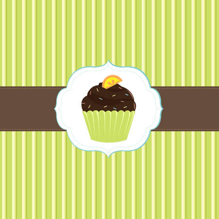 Cake Cards Template, Vector Illustration  Vector
