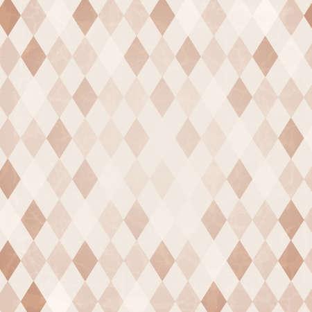 Retro Harlequin Achtergrond, Vector Achtergrond Vector Illustratie