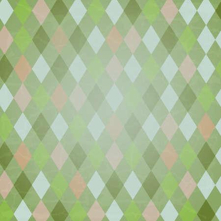 arlecchino: Vintage Background Harlequin, Vector Background