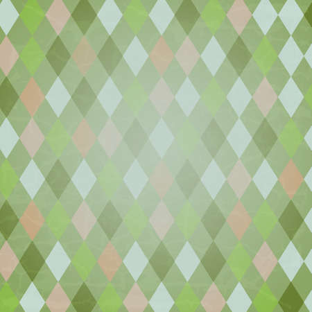 Vintage Harlequin Background, Vector Background Vector
