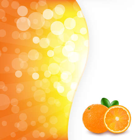 Orange Background With Orange Vector