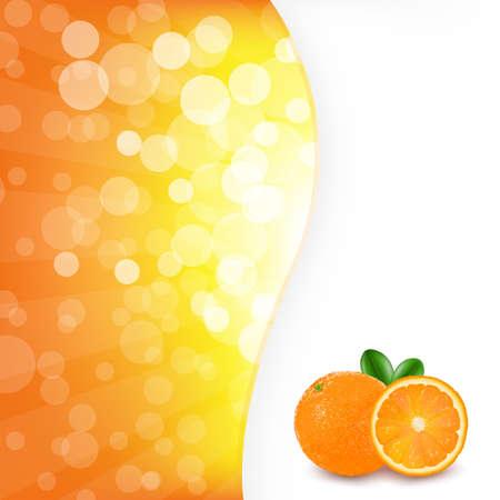 ight: Orange Background With Orange