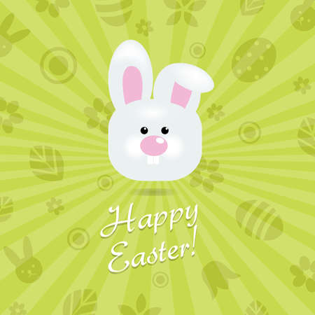 Easter Card, Vector Illustration Stock Vector - 12958677