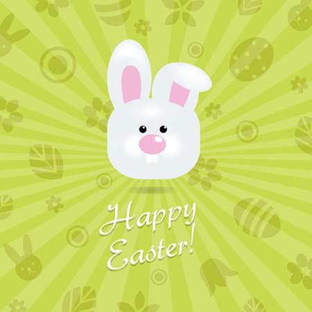 Easter Card, Vector Illustration Stock Vector - 12958677
