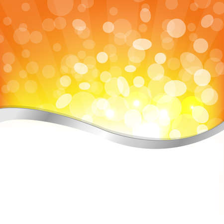 Sun Background, Summer Sun Light Burst, Vector Illustration