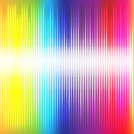 blurred lights: Abstract  Bright Neon Color Background  Illustration