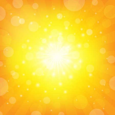 Sunburst Achtergrond Shiny achtergrond Vector Illustratie