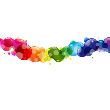 Colorful Balloons With Boke And Star