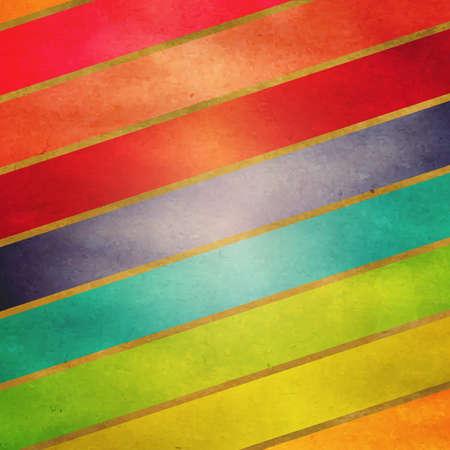 Colorful Vintage Retro Regenbogen-Hintergrund Standard-Bild - 15586657