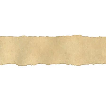 torn edges: Fragmentary Old Vintage Paper Borders, Illustration