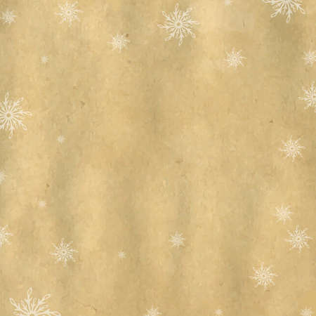 Christmas Background With Snowflaks With Gradient Mesh,  Illustration Vector